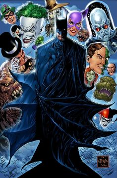Batman & Co. by Ethan Van Sciver