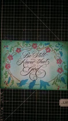 Tim Holtz embossing folder, Ctmh stamp, lindys spray for watercolor and distress inks