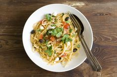 Southwestern one-pot pasta with chicken and black beans | Homesick Texan