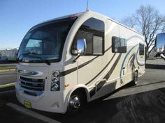 2016 New Thor Motor Coach VEGAS 25.2 Class A in New Jersey NJ.Recreational Vehicle, rv, 2016 THOR MOTOR COACH VEGAS25.2, 12V Attic Fan in Bedroom, 12V Attic Fan in Living Area, 15.0 BTU A/C, 32in Exterior TV, 32in TV in Bedroom, Cabinetry-Olympic Cherry, Holding Tanks w/Heat Pads, Interior-Indian Summer, Jazzy Blue Exterior, Second Auxiliary Battery,