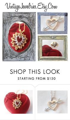"""VintageJewelries.Etsy.com"" by rescuedofferings ❤ liked on Polyvore featuring vintage"