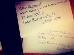 Your Kid Can Send Their Favorite Disney Character A Letter N They Will Send A Autographed Photo Back #Family #Trusper #Tip