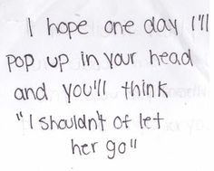 I don't hope, I know it