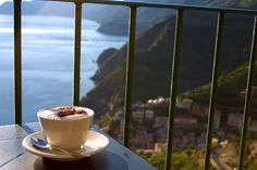 Coffee with an Italian seaside please..