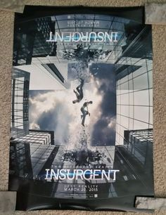 Insurgent the Divergent Series  Promo DS Movie Theater Poster 27x40 P137