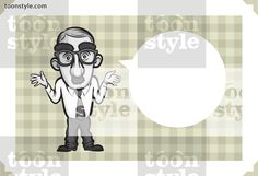 Greeting card with businessman in a mask – personalize your card with a custom text