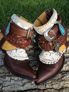 Custom order Cowgirl Annie Boots, Boho, Gypsy Cowboy Boots on Etsy, $246.90 AUD