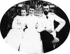 "romanovsonelastdance: "" Maria Georgievna, Xenia Alexandrovna, and Alexander Mikhailovich. Princess Maria of Greece (""Greek Minny"") and Grand Duchess Xenia Alexandrovna were the best of friends growing..."