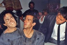 I find the puppet or whatever it is of Bruce Campbell on the left creepy looking.