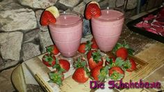 Eve's Kinder-Rezepte: Gastbeitrag: Leckerer Erdbeer-Smoothie