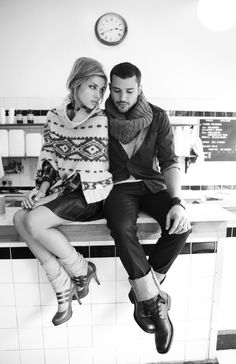 layer layer layer for winter sessions, bobby socks and heels, scarfs, poncho, love the eclectic look