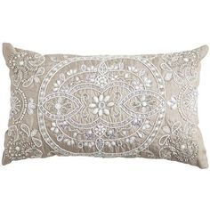 Beaded Medallion Lumbar Pillow ...love this pillow..I had to buy it