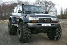 Toyota Surf, Toyota Lc, Toyota Trucks, Toyota Hilux, 4x4 Trucks, Cool Trucks, Cj Jeep, Jeep Truck, Land Cruiser 80