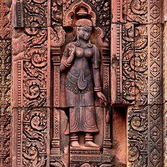 Carvings of Banteay Srei, III