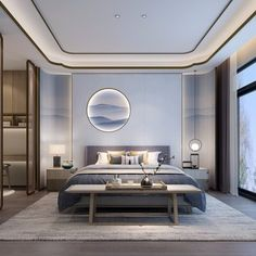 Home Decoration Luxury .Home Decoration Luxury Home Bedroom, Modern Bedroom, Bedroom Decor, Bedroom Lighting, Home Interior, Interior Architecture, Bedroom Goals, Home Remodel Costs, Hotel Room Design