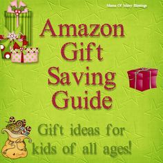 Amazon Savings Gift Guide amazing deals going on right now on Amazon.