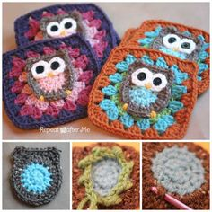 You will love to learn how to make this gorgeous Owl Granny Square Afghan Pattern and it's free! Check out the video tutorial and crochet along!
