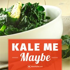 Kale Me Maybe? Sounds good but tastes so good too! #teelieturner #healthy #salad #recipe #teelieturnershoppingnetwork   www.teelieturner.com