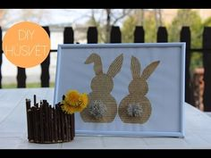 DIY Húsvéti Dekorációk | AvianaRahl - YouTube