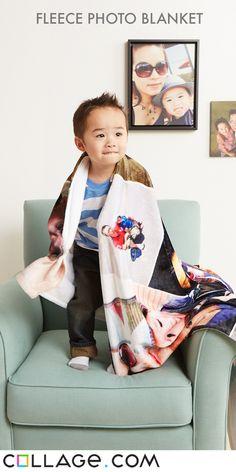 50x60 Fleece Photo Blanket Voucher