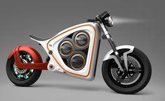 Frog Design Rana electric motorcycle