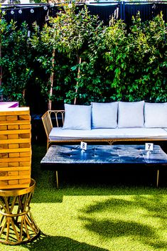 Day or night, our patio is the chicest outdoor hangout spot in Santa Monica.  #event #patio #chill