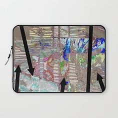 Protect your laptop with a unique Society6 Laptop Sleeve.<br><br>Our form fitting, lightweight sleeves are created with high quality polyester - optimal for vibrant color absorption. The design is printed on both sides to fully showcase the artwork while keeping your gear protected. Pulling back the YKK zipper, you'll find the interior is fully lined with super soft, scratch resistant micro-fiber.