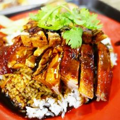 The yummiest part is when u flip the roasted duck over to reveal its entire tasty look.