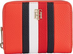 Tommy Hilfiger Daring Scarlet Münzbörse TH Essence Med ZA Corp. rot Scarlet, Tommy Hilfiger, Dares, Accessories, Monogram, Pocket Wallet, Artificial Leather, Bags, Scarlet Witch