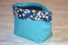 SANAE Kosmetiktasche - genäht von NORIKO handmade www.noriko-handmade.de #Japan #japanische #Stoffe #Kosmetiktasche #pouch
