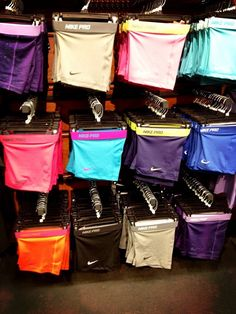 Nike Pro shorts - heaven! I want them all!!