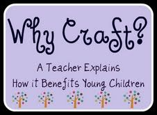 Why Craft? Why Art? Teacher Explains Why and How Art Benefits Kids