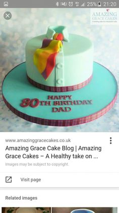 Birthday/ Father's Day cake