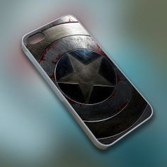 BuTum - Captain America Winter Soldier Shield - Cell Phone Custom - iPhone 4 4s 5 5s 5c, Samsung S3 S4