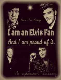 yes I am!! have been since I was little lol Elvis was some of the first music I ever listened to