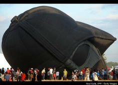 Darth Vader hot air balloon.
