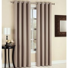 Sun Zero™ Fabian Grommet-Top Blackout Curtain Panel  found at @JCPenney