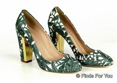 J Crew Collection Blakely Printed Pumps Sz 10 Style A0396 New #JCrew #PumpsClassics