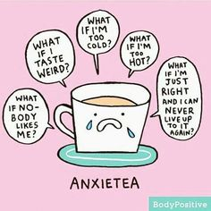 Illustrator Gemma Correll suffers from anxiety and depression, and she uses humor to cope. Her charming mental health comics offer support to others. Depression Memes, Depression Help, Depression Symptoms, Cute Puns, Funny Puns, Hilarious, Funny Stuff, Chemistry Jokes, Thoughts