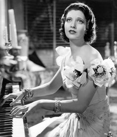 """Kay Francis in """"Mandalay"""" 1934 Hollywood Gowns, Old Hollywood Glamour, Golden Age Of Hollywood, Vintage Hollywood, Classic Hollywood, Hollywood Music, Hollywood Style, Hollywood Actresses, Carmen Miranda"""