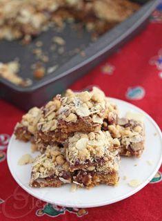 Gluten Free Raspberry Almond Bars © Jeanette's Healthy Living