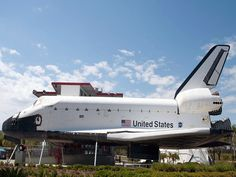 Space Shuttle at Kennedy Space Center, Orlando, FL.