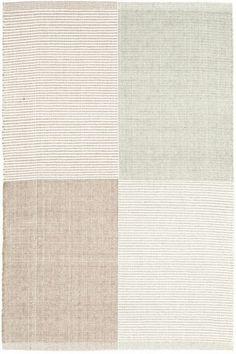 Dash & Albert Cotton or Wool Indoor or Outdoor Rugs & Runners. Effortless earth tones!