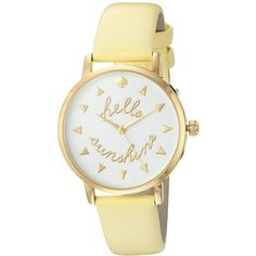 Kate Spade New York Metro - KSW1090 (White) Watches