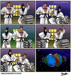 Es mejor no hacer enfadar a Superman