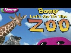 Barney - Let's Go To The Zoo - YouTube