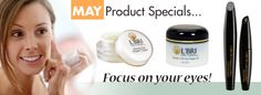 May Product Specials. Make your eyes stand out, show that twinkle in your eyes... www,barbiesskincare.lbri.com