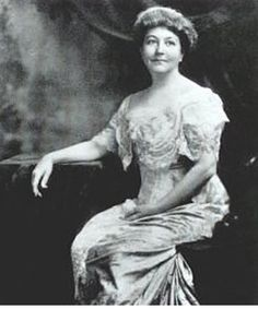"""Ellen Axson Wilson - 1860-1914 - was the first wife of President Woodrow Wilson and the mother of his 3 daughters. She suffered from Bright's disease. On her deathbed she told her husband to re-marry and also told her doctor to """"please take care of my dear Woodrow""""."""