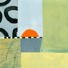 """Jane Davies: collage journeys: A Few More Collage Grids -8x8"""""""