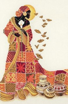 african american cross stitch patterns | African-American - Cross Stitch Patterns & Kits